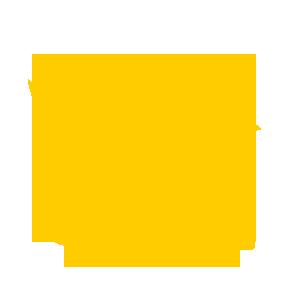 gelbes Kueken mit Skateboard