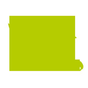 grünes Kueken mit Auto