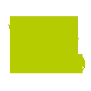 grünes Kueken mit Ball