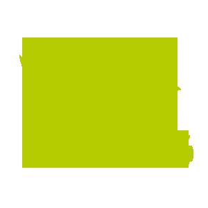 grünes Kueken mit Lokomotive