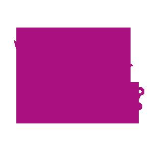 lila Kueken mit Teddybaer